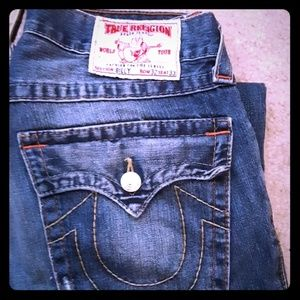 Selling these mens true religion jeans.  Size32/33